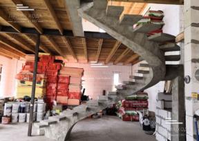Винтовые лестницы бетонные