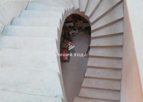 Бетонная лестница на второй этаж ООО ЛИНИЯ ХОДА Проект 038_04