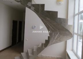 Бетонная винтовая лестница ООО ЛИНИЯ ХОДА Проект 040_04