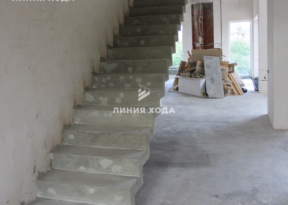 Маршевая лестница на второй этаж ООО ЛИНИЯ ХОДА Проект 003_01