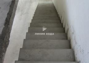 Маршевая лестница на второй этаж ООО ЛИНИЯ ХОДА Проект 003_05